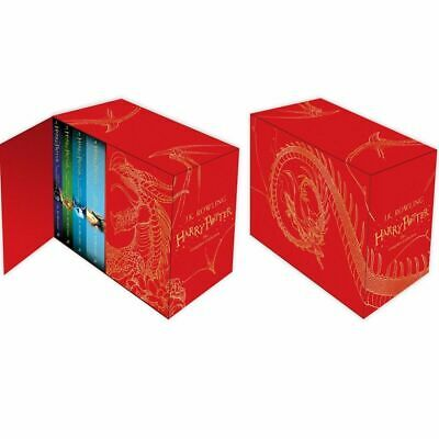 Harry Potter Hardback The Complete Collection 7 Books Boxed Set By J.K. Rowling