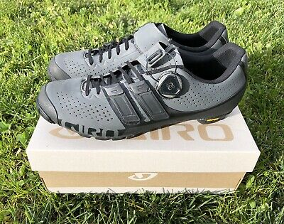 1d13a13f5a62eb GIRO CODE TECHLACE MTB Shoes Size 45.5 EU Dark Shadow / Black ...