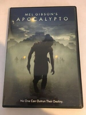 Apocalypto 2006 DVD Mel Gibson w/ Slipcover and Insert! OOP LIKE NEW MINT DISC!