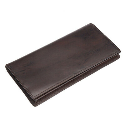 Men's Wallet Real Genuine Leather Business Card Holders Long Vintage Case 2019