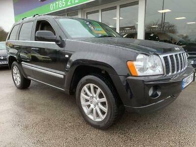 2007 07 Jeep Grand Cherokee 3.0 V6 Crd Overland 5D Auto 215 Bhp Diesel