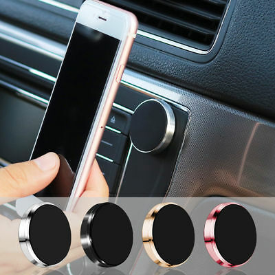 2-Pack Universal In Car / Office Magnetic Cell Mobile Phone GPS Mount Holder