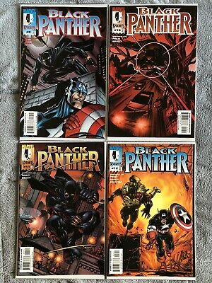 Black Panther #9 - #10 - #11 - #12 - Enemy Of The State - Captain America!