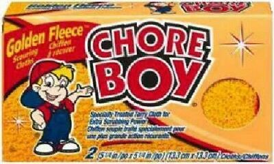 Chore Boy 24 Pack, Golden Fleece Scrubbing Cloths