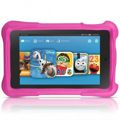 """New Amazon Kindle Fire HD 8 Kids Edition Tablet,8"""" HD Display, 32 GB, Pink *New*"""
