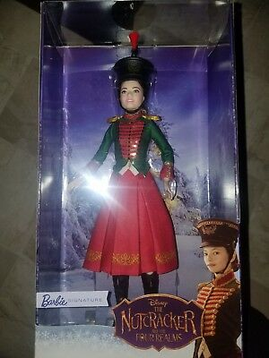 Nutcracker and the Four Realms Clara's Soldier Uniform Barbie Doll IN STOCK NOW!