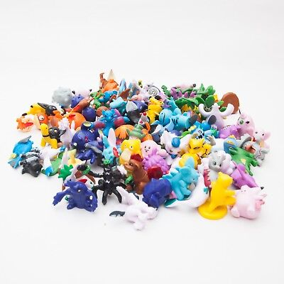 Pokemon Anime Mini Figures 6PCS Cake Toppers FAST SHIPPING UK STOCK