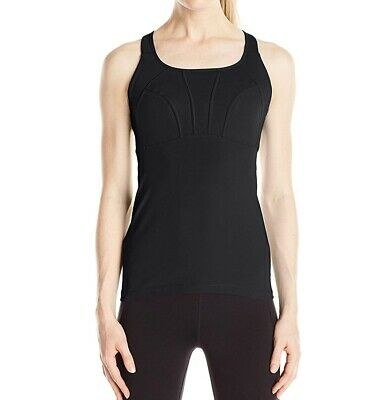 9400425861e prAna NEW Black Womens Size Small S Built-In-Bra Activewear Tank Top  69