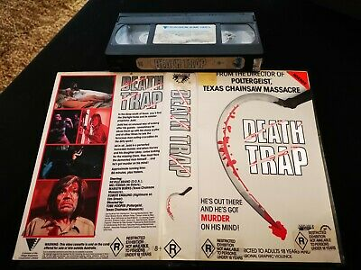 Deathtrap *Applause Home Video* VHS