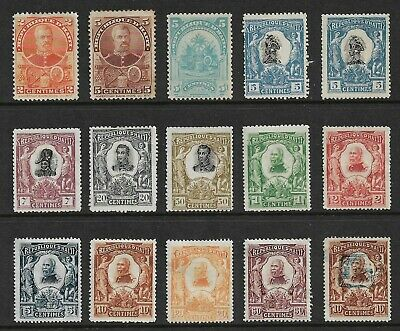 HAITI mixed collection, 1898-1904, incl opt, mint, MNG & MH