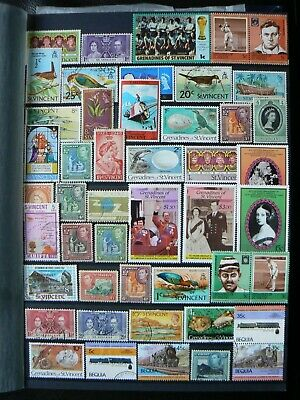 Collection Of St Saint Vincent Grenadines Stamps