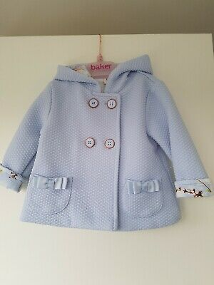 baby girls ted baker coat 3-6 month