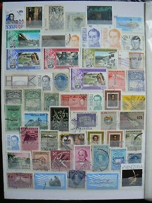 Collection Of Venezuela Stamps