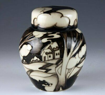 Moorcroft Silent Watchman Badger Ginger Jar 769/4, Numbered, Signed, 1St Quality