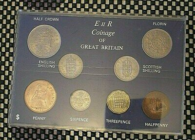 1964 British Coin Set.