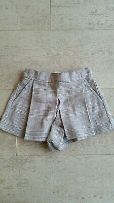 BNWT Girls Age 3 - 6 Months Cullottes Skirt Shorts Skorts From Next RRP £12