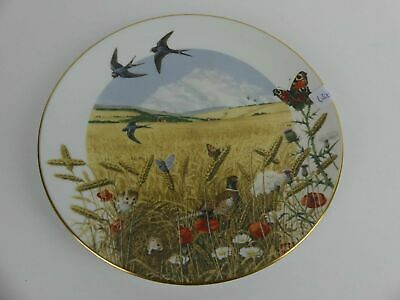 "FRANKLIN MINT Sammelteller Zierteller ""The Wheatfields in Augustl"" by P. Barrett"