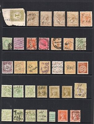 Selection Of Victoria State Stamps.