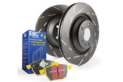 EBC Brakes Yellowstuff Pad and USR Slotted Disc Kit [PD08KR022]