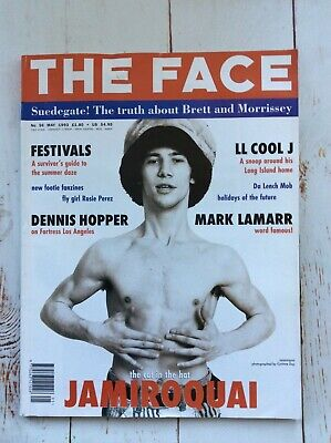 The Face Magazine Jamiroquai LL Cool J May1993 Music Vintage Collectable