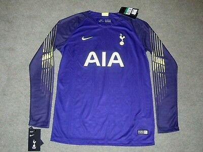 7edb01608c4 BNWT Nike Tottenham Hotspur Home Goalkeeper shirt 2018 19 No. 1 kids XL 13