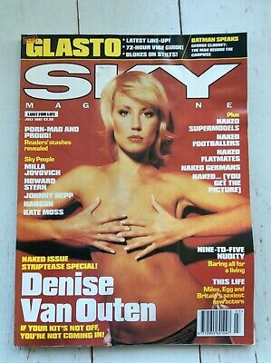 SKY Magazine Denise Van Outen July 1997 Collectable Music Celebrity