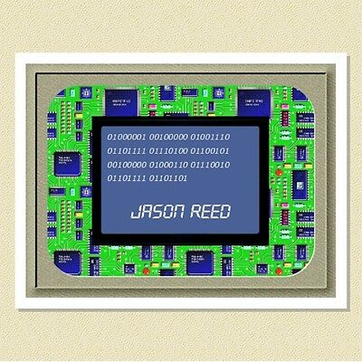 Fun Note Cards For The Computer Enthusiast - Personalized (10 Folded)