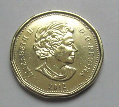 2012 CANADA  LOONIE  - combined shipping