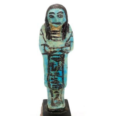 An Overseer Shabti for the Songstress of Amun, Ta-udjat-re, 19th Dynasty,  ca. 1
