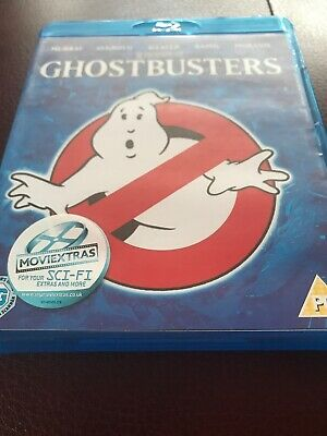 Ghostbusters (Blu-ray, 2009) Includes Movie Extras Code Bill Murray