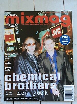 Mixmag Magazine The Chemical Brothers December 1995 Dj Dance Music Collectable