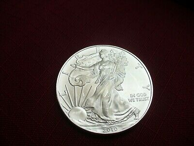 2010  1 oz Silver American Eagle RARE LOW MINTAGE (Brilliant Uncirculated)