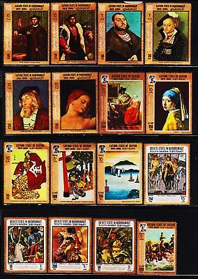 South Arabia Kathiri State & Other31 Different Mint Stamps Collection Lot #k2908