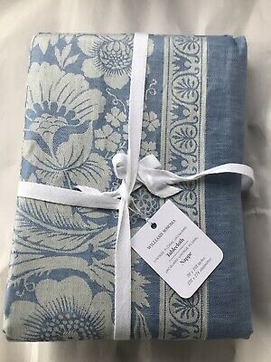 Williams Sonoma Vintage Floral Jacquard 70 X 108 Tablecloth Brand New W/ Tags