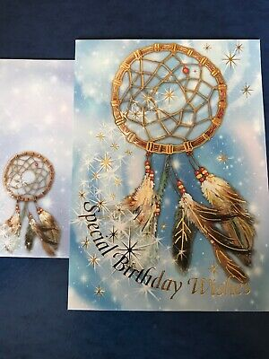 DREAM CATCHER HAPPY Birthday Greeting Card