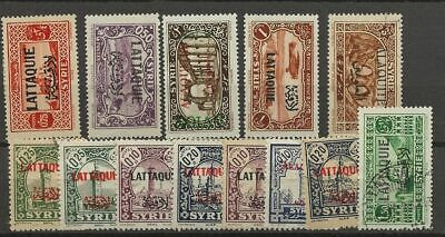 Latakia Lot Mh/used Stamps