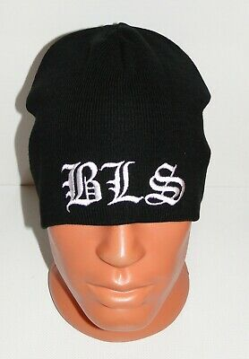20dc018f372 BLS Black Label Society black beanie hat NEW embroidered logo southern metal