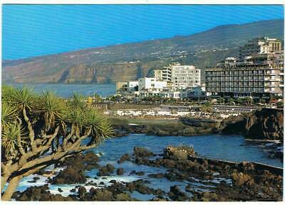 Postal Tenerife. Puerto de la Cruz. Vista Parcial TF1. Global Traders