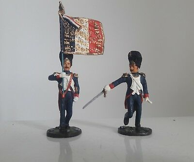 Britains 17363 french imperial  hougoumont Napoleonic waterloo 1:32 metal