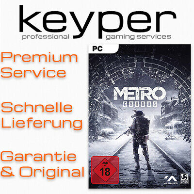 Metro Exodus [Epic Games] RU KEY Deutsch/Multi9 PC Download Code; KEIN/NO STEAM