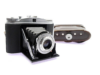 Agfa Isolette II  mit-with Agfa Agnar 1:4,5/85  (00422)