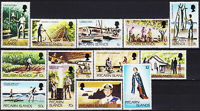 Pitcairn Defins Today's Life 1977 MNH-12 Euro