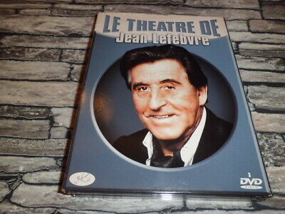 Le Theatre De Jean Lefebvre Coffret 6 Pieces De Theatre Digipack 3 Dvd