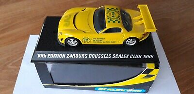 Scalextric TVR 10th Edition 24 HOURS Brussels Scalex Club