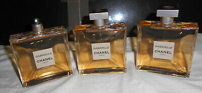 CHANEL Paris, 3 flacons FACTICES dummy, parfum perfume GABRIELLE 100ml