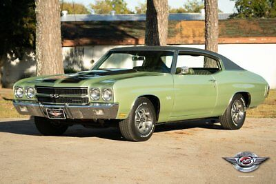 1970 Chevrolet Chevelle Super Sport 396  SS396 1970 Chevelle SS396, Numbers Matching, Build Sheet, Protect-O-Plate, Super Sport