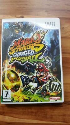 "Nintendo Wii Spiel"" Mario Strikers Charged Football "" Ovp + Anleitung"