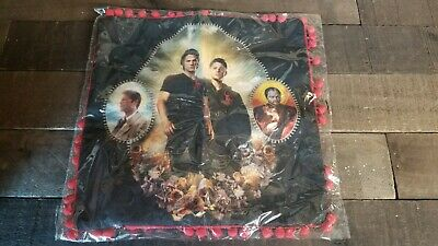 """Supernatural CultureFly Exclusive Throw Pillow Case Cover 14"""" x 14"""" NEW"""