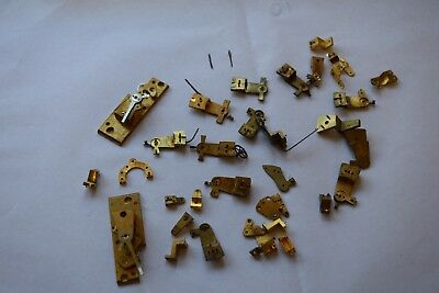 antique carriage  clock escapement platforms parts 11