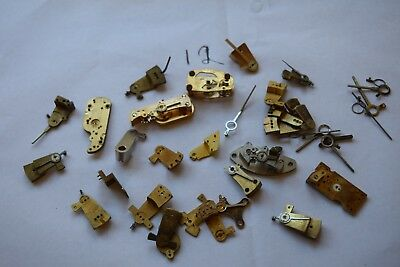 antique carriage  clock escapement platforms parts 12